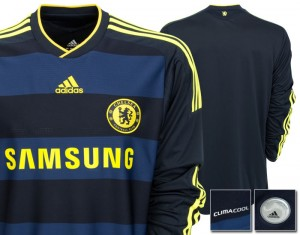 09-10 Chelsea Away Shirt Long Sleeved