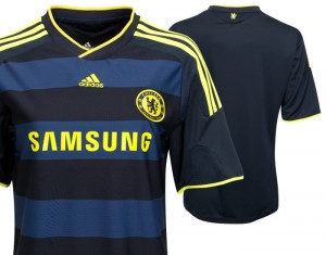 09-10 Chelsea Away Shirt Womens