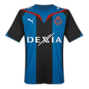 09-10 Club Brugge Home Shirt