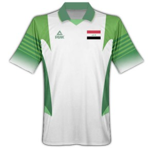 09-10 Iraq Away Shirt