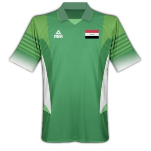 09-10 Iraq Home Shirt