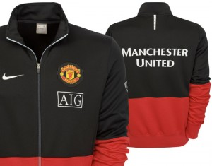 09-10 Manchester United Line Up Jacket