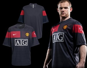 09-10 Manchester United Pre Match Training Top