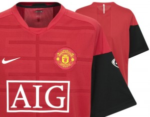 09-10 Manchester United Training Top
