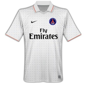 09-10 PSG Away Shirt