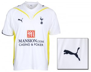 09-10 Tottenham Home Shirt