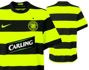 09-11 Celtic Away Shirt Sponsor