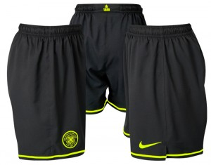 09-11 Celtic Away Shorts