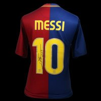Lionel Messi Signed Barcelona Shirt