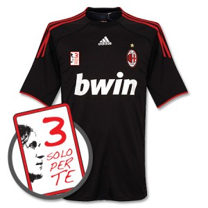 09-10 AC Milan Third Shirt Maldini 3 Solo Per Te Patch