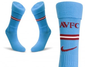 09-10 Aston Villa Home Socks