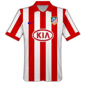 09-10 Athletico Madrid Home Shirt