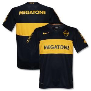 09-10 Boca Juniors Home Shirt