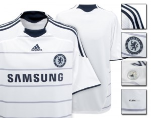 09-10 Chelsea Third Shirt Kids