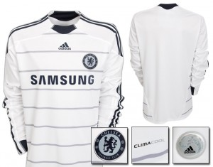 09-10 Chelsea Third Shirt Long Sleeved