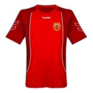 09-10 Gibraltar Home Shirt
