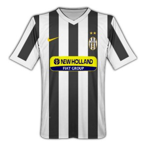 09-10 Juventus Home Shirt