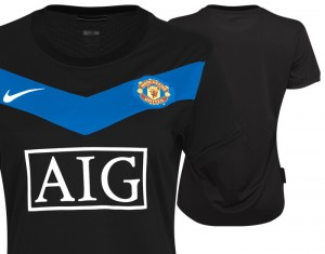 09-10 Manchester United Away Shirt Womens