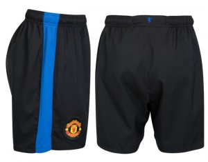 09-10 Manchester United Away Shorts