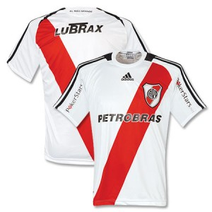 09-10 River Plate Home Shirt