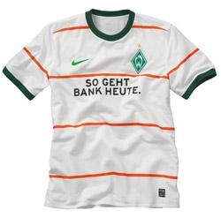 09-10 Werder Bremen Away Shirt