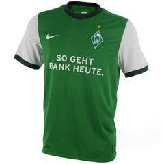 09-10 Werder Bremen Home Shirt