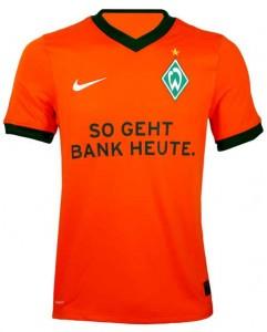 09-10 Werder Bremen Third Shirt