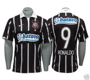 09-10 Corinthians Away Shirt Ronaldo 9
