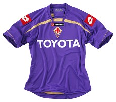 09-10 Fiorentina Home Shirt