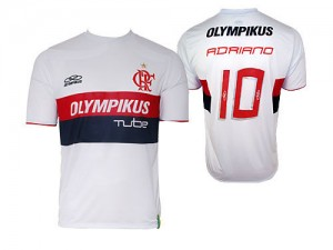 09-10 Flameno Away Shirt Adriano 10