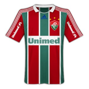 09-10 Fluminense Home Shirt