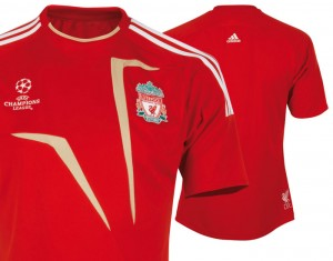 Liverpool UEFA Champions League ClimaCool Jersey
