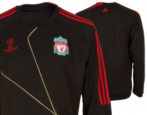 Liverpool UEFA Champions League Sweat Top