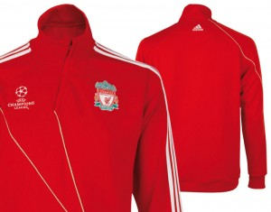 Liverpool UEFA Champions League Training Top