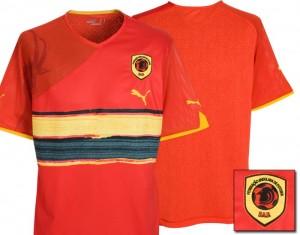 09-11 Angola Home Shirt