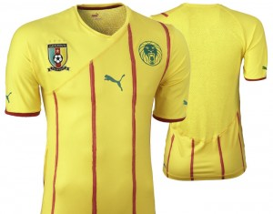 09-11 Cameroon Away Shirt