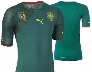 09-11 Cameroon Home Shirt