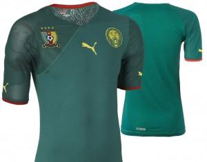 09-11 Cameroon Home Shirt