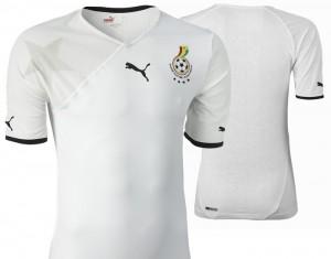09-11 Ghana Home Shirt