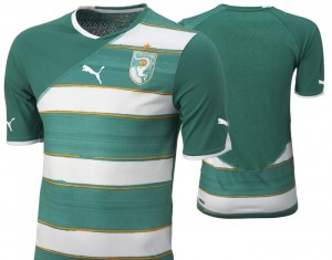 09-11 Ivory Coast Away Shirt