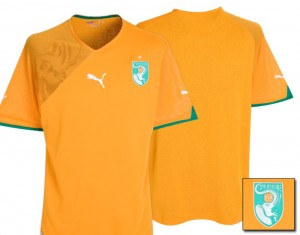 09-11 Ivory Coast Home Shirt