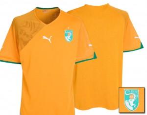 09-11 Ivory Coast Home Shirt