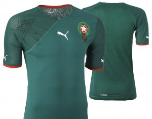09-11 Morocco Home Shirt