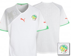 09-11 Senegal Home Shirt