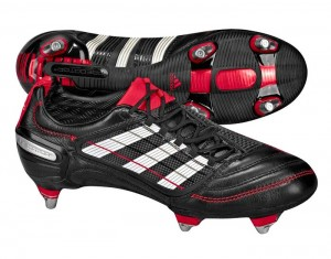 Adidas Predator X Soft Ground Soccer Boots Black Red