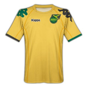 10-11 Jamaica Home Shirt Kids