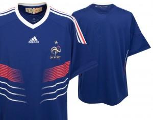 09-10 France Home Shirt