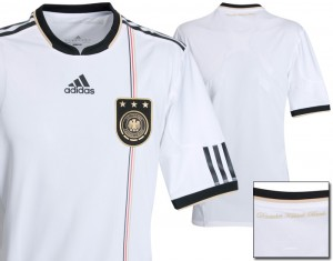 09-10 Germany Authentic Home Shirt
