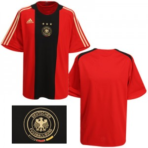 09-10 Germany Away Shirt