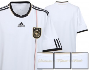 09-10 Germany Home Shirt Kids